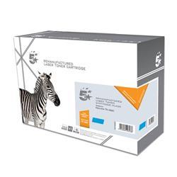 5 Star Office Remanufactured Laser Toner Cartridge Page Life 5000pp Cyan [Kyocera TK-590C Alternative]