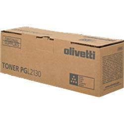 Olivetti Toner Cartridge (Yield 2,500 Pages) for Olivetti PG L2130 Desktop Laser B&W Printer