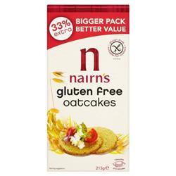 Nairns Gluten Free Oat Cakes Ref 0401054 [Pack 60]
