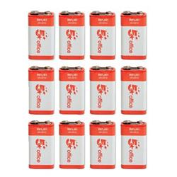 Image of 5 Star Batteries 9V / 6LR61 [Pack 12] - 937965