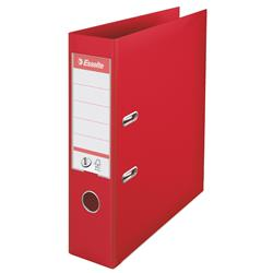 Esselte No. 1 Lever Arch File 75mm A4 Red Ref 879983