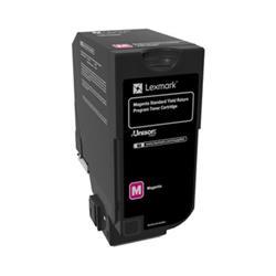 Lexmark CS720 Toner Cartridge Return Program High Yield Page Life 7000pp Magenta Ref 74C2SM0