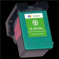 Alpa-Cartridge Remanufactured HP No.351XL Photosmart 4280 Tri-Colour Ink Cartridge CB338E