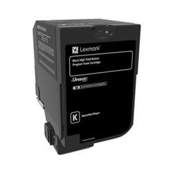 Lexmark CS720 Toner Cartridge Return Program High Yield Page Life 20000pp Black Ref 74C2HK0