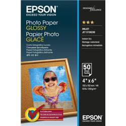 Epson Photo Paper Glossy 10x15cm [Pack 50]