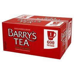 Barrys Gold Label 600's 1 Cup Tea Bags