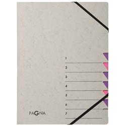 Pagna Pro 7 Part File A4 Grey Pink