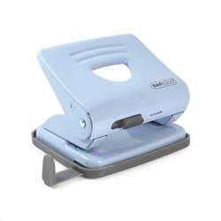 Rapesco 825 2-Hole Punch 25 Sheets Blue Ref 1359