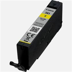 Canon CLI-581 Inkjet Cartridge Page Life 259pp Yellow Ref 2105C000