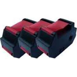 ALPA-CArtridge Comp Francotyp Postalia T1000 Blue Ink 3x Cattridges 51.0019.5303.00