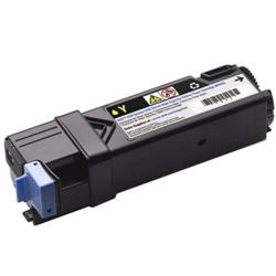 Dell 2150cn/cdn & 2155cn/cdn Laser Toner Cartridge Page Life 1200pp Yellow Ref 593-11036