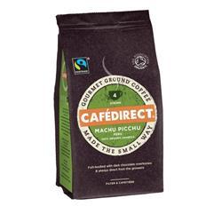 Cafe Direct Machu Pichu Peruvian Coffee Beans 227g Ref FCR1004