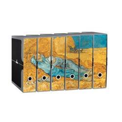 Foto Gruppo di Registratori Unicolor - Protocollo - 8 Cm - Van Gogh - 6pz Gruppi di registratori