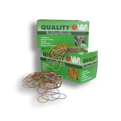 Astuccio elastici in para naturale 100 g viva - 100 mm - conf. 100