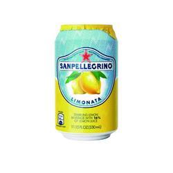 San Pellegrino Lemon Sparkling Can Pk24 Ref 12166912