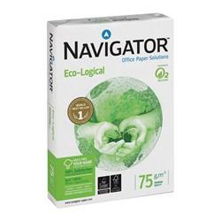 Foto Mini Bancale Carta ecologica Navigator Eco- 81178X 75G - 50 risme Carta bianca