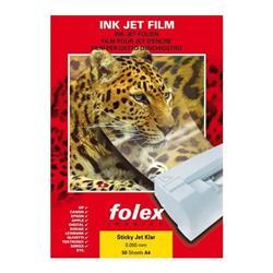 Foto Film adesivo inkjet trasparen Folex 2939C.050.44100 - conf. 50 Trasferibili, lucidi e adesivi