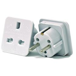 European Travel Adaptor [Pack 2]
