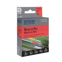 Foto Nastro Per Etichettatrice Lc Epson - 12 Mm X 2 M - Nero/Bianco - C53S6 Etichette e Nastri