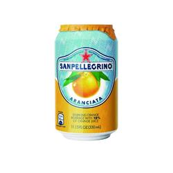 San Pellegrino Orange Sparkling Can Ref 12166832 P24