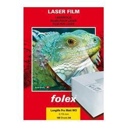 Foto conf. 100 Film per stampanti laser 100my Folex 2973811544000 Trasferibili, lucidi e adesivi