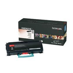 Lexmark Black Toner Cartridge (Yield 3,500 Pages) for X463/X464/X466 Multifunction Mono Laser Printer