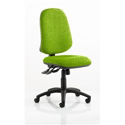 Eclipse XL Task Operator Chair Swizzle Colour Without Arms Ref KCUP0242