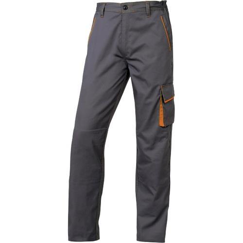 Foto Pantaloni da lavoro Delta Plus - grigio/arancione - M - M6PANGOTM