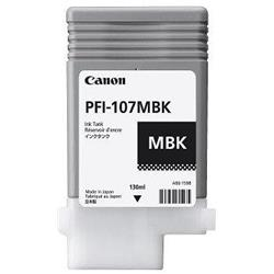 Canon PFI-107MBK (Matte Black) Ink Cartridge (150ml)