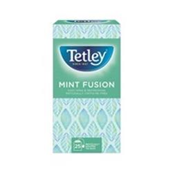 Tetley Mint Fusion Tea Bags Finest European-sourced Individually-wrapped Ref 1576a (Pack 25)