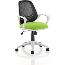 Atom Task Operator Swizzle Colour Seat With Arms Ref KCUP0058