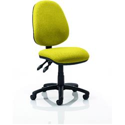 Luna II Task Operator Chair Sunset Colour Without Arms Ref KCUP0341