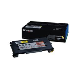 Lexmark C500 Yellow 3k Laser Toner Cartridge Ref 0C500H2YG