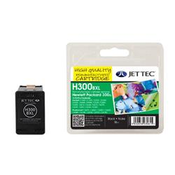 Jet Tec HP Compatible HP300XL/CC641EE (18ml) Manufactured Inkjet Cartridge