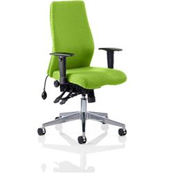 Onyx Posture Chair Swizzle Colour Without Headrest With Arms Ref KCUP0442