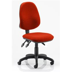 Eclipse III Task Operator Chair Pimento Colour Without Arms Ref KCUP0260