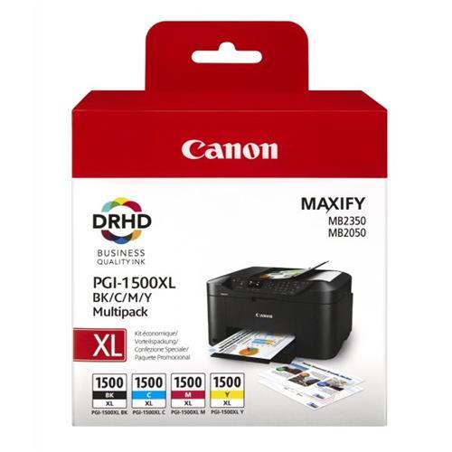 Foto Orig Canon 9182B004 Conf.4 inkjet MULTIPACK PGI-1500XL BK/C/M/Y 4