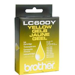Brother Inkjet Cartridge Yellow for MFC580 90 Ref LC600Y