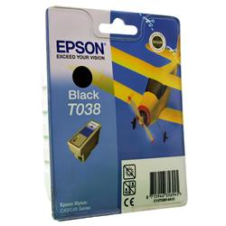 Epson T038 Black Ink Cartridge  for Stylus C43 Printer