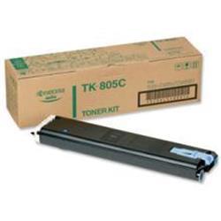 Kyocera TK-805C Cyan (10,000 Pages) Toner Cassette for FS-C8008N/KM-C850