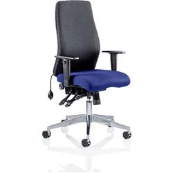 Onyx Posture Chair Without Marine Headrest Bespoke Colour Seat With Arms Ref KCUP0427