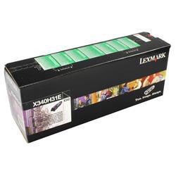 Lexmark X642e Laser Toner Cartridge Page Life 10000pp Black Ref X644A21E