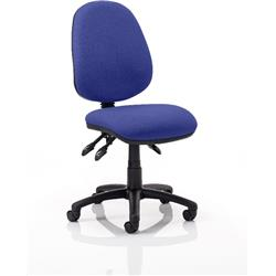 Luna III Lever Task Operator Chair Serene Colour Without Arms Ref KCUP0355