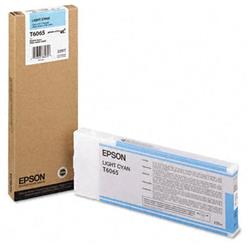 Epson T6065 Light Cyan Ink Cartridge for Stylus Pro 4800/4880 (220ML)