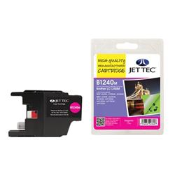 Jet Tec Brother Compatible LC1240M (7.1ml) Remanufactured Inkjet Cartridge