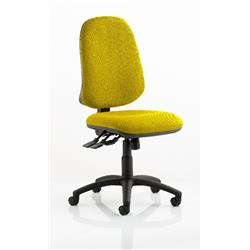 Eclipse XL Task Operator Chair Sunset Colour Without Arms Ref KCUP0245