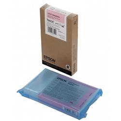 Epson T603C (220ml) Light Magenta UltraChrome Ink Cartridge for SP7800/9800 Printers