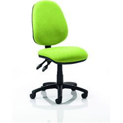 Luna II Task Operator Chair Swizzle Colour Without Arms Ref KCUP0338