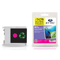 Jet Tec Brother Compatible LC970M (10ml) Remanufactured Ink Cartridge