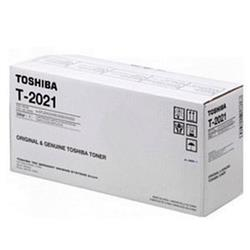Toshiba T2021 Black Toner Cartridge for E-Studio 202S and 203SD (Yield 8,000 Pages)